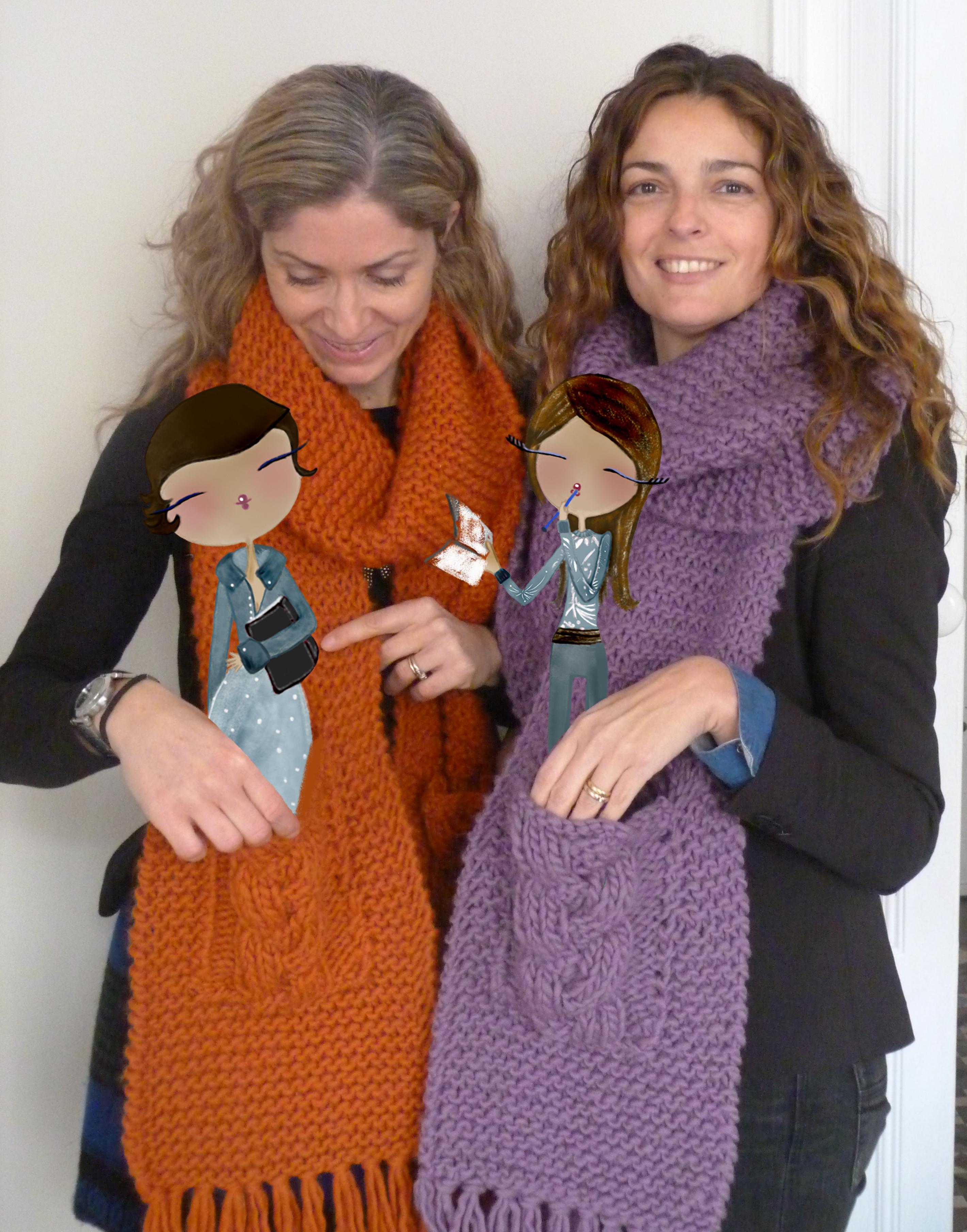 Patrón para tejer una bufanda extra-larga (2ª parte) | MissQ40