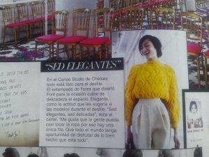 @telva Del Pozo, sueter amarillo