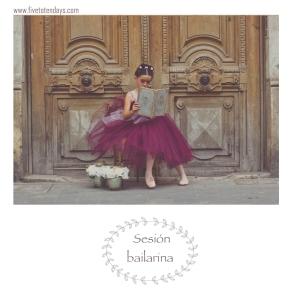 5- sesion bailarina